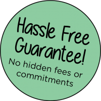 Hassle free logo